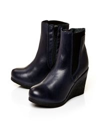 Moda In Pelle | Blue Amelias High Casual Short Boots | Lyst