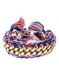 Aurelie Bidermann | Metallic 'Do Brasil' Double Bracelet | Lyst
