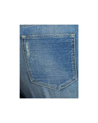3x1 - Blue W4 Super High Rise Crop Boyfriend Jeans In Hicks - Lyst