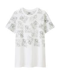 Uniqlo - White Women's Sprz Ny Jean-michel Basquiat T-shirt - Lyst