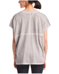 BOSS Orange | Gray Cotton T-shirt 'timary' | Lyst