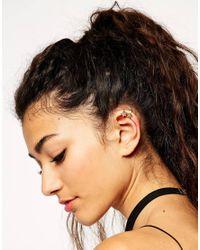 ASOS - Metallic Mystical Star Ear Cuff Pack - Lyst