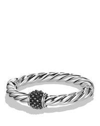David Yurman | Metallic Osetra Bracelet With Hematite | Lyst