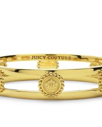 Juicy Couture | Metallic Status Coin Bangle | Lyst