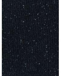 Rundholz - Black Asymmetric Detail Sweater - Lyst