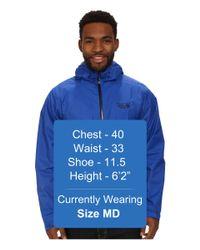Mountain Hardwear   Blue Finder™ Jacket for Men   Lyst