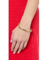 Miansai | Metallic Side Cuff - Gold | Lyst