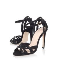 Carvela Kurt Geiger | Black Lana High Heel Sandals | Lyst