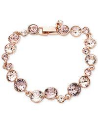 Givenchy | Pink Crystal Stone Flex Bracelet | Lyst