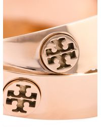 Tory Burch | Metallic Double Logo Bangle | Lyst