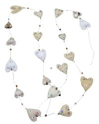 Dosa | White Hearts Garland | Lyst