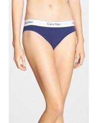 Calvin Klein | Black 'modern' Bikini | Lyst