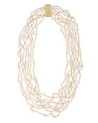 Rosantica By Michela Panero | Pink Pegaso Rose Quartz Multi-layer Necklace | Lyst
