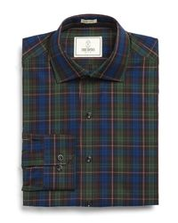 Todd Snyder | Carey Dress Shirt In Dark Green Plaid for Men | Lyst