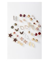 Express | Multicolor 20 Pack Stud Earring Set | Lyst