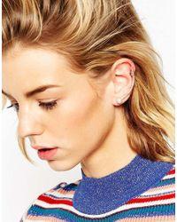 ASOS | Multicolor Ombrã© Pearl Ear Cuff | Lyst