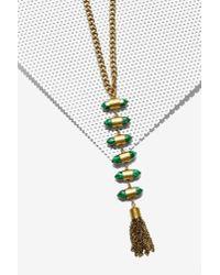 Nasty Gal | Metallic Bulletproof Ladder Necklace | Lyst
