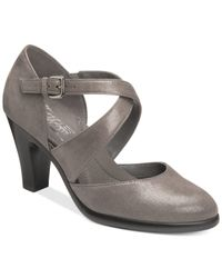 Aerosoles | Gray Postage Pumps | Lyst