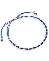 Astley Clarke | Blue Amazonite Skinny Biography Bracelet | Lyst