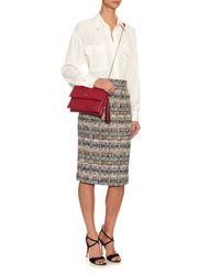 Lanvin | Red Sugar Mini Leather Shoulder Bag | Lyst