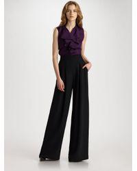 Lafayette 148 New York | Ludlow Pants, Black | Lyst