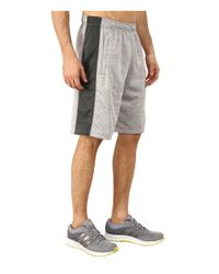 Adidas | Gray Team Issue Fleece Shorts for Men | Lyst