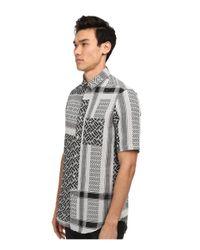McQ - Gray Slim-Fit Check Shirt - For Men for Men - Lyst