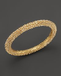Roberto Coin | Metallic 18k Yellow Gold Plated Sterling Silver Stingray Bangle | Lyst