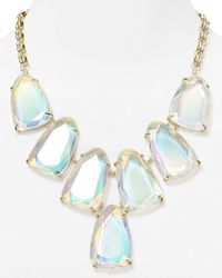 Kendra Scott | Blue Harlow Iridescent Necklace 18 | Lyst