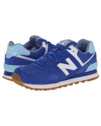 New Balance | Blue Wl574 - Picnic Collection | Lyst