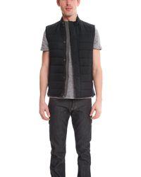 Vince - Blue Puffer Vest for Men - Lyst