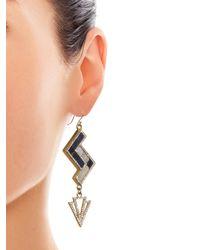 Lulu Frost | Multicolor Ravenna Geometric Drop Earrings | Lyst