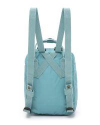 Fjallraven - Blue Kanken Mini Backpack - Lyst