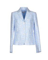 Michael Kors - Blue Blazer - Lyst
