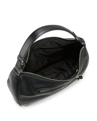Calvin Klein | Black Leather Hobo Bag | Lyst
