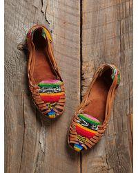 Free People - Multicolor Vintage Hurrache Sandals - Lyst