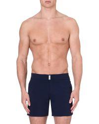 Vilebrequin | Blue Plain Merise Swim Shorts for Men | Lyst
