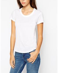 ASOS | White The Crew Neck T-shirt | Lyst