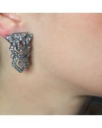 Ben-Amun   Metallic Geometric Deco Earrings   Lyst