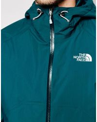 The North Face - Green Stratos Jacket With Mesh Lining for Men - Lyst