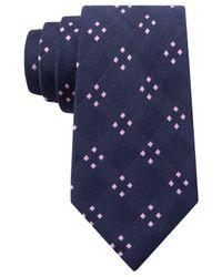 Michael Kors - Blue Michael Four Point Spread Tie for Men - Lyst