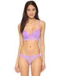 Skarlett Blue | Purple Socialite French Bikini Briefs | Lyst