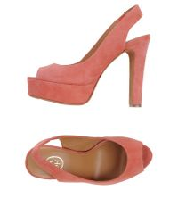 Ash - Pink Sandals - Lyst
