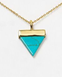 """Samantha Wills - Blue Aztec Dreaming Necklace, 16"""" - Lyst"""