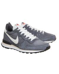 Nike - Gray Internationalist for Men - Lyst