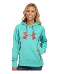 Under Armour | Green Ua Storm Caliber Hoodie | Lyst