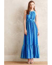 Tracy Reese | Blue Okeanos Maxi Dress | Lyst