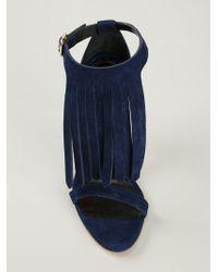 Rupert Sanderson - Blue 'Marlena' Sandals - Lyst