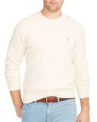Polo Ralph Lauren | Natural Crewneck Sweatshirt for Men | Lyst