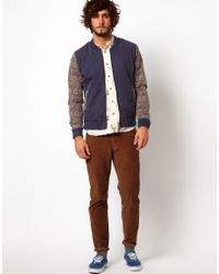 Native Youth | Brown Cord Trousers for Men | Lyst